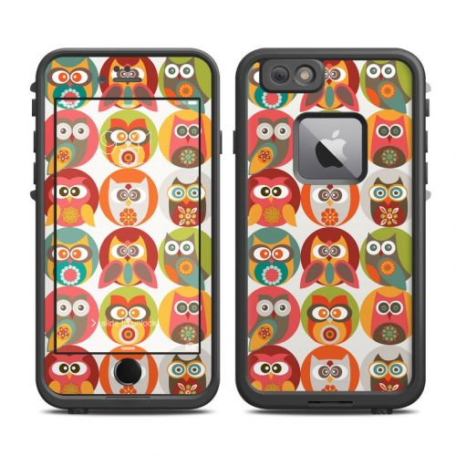 Owls Family LifeProof iPhone 6s Plus fre Skin