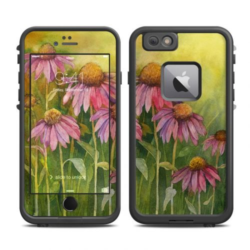 Prairie Coneflower LifeProof iPhone 6s Plus fre Case Skin