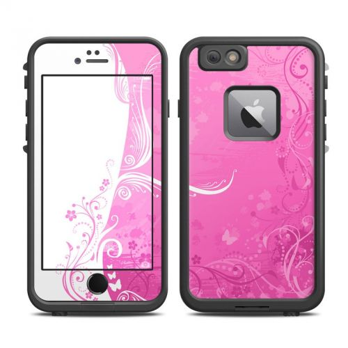 Pink Crush LifeProof iPhone 6s Plus fre Skin