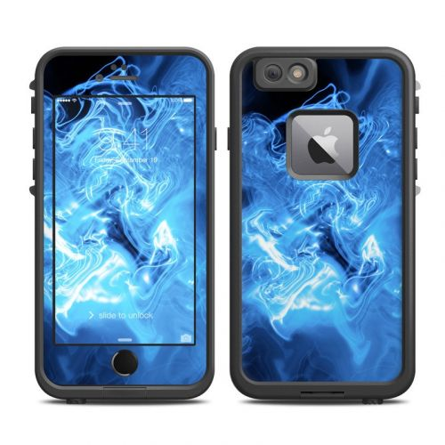 Blue Quantum Waves LifeProof iPhone 6s Plus fre Case Skin