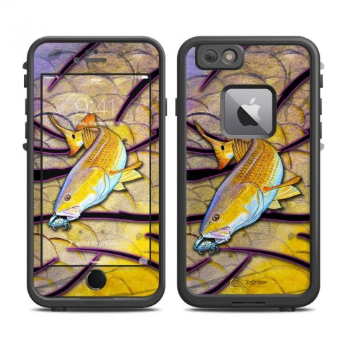 Red Fish LifeProof iPhone 6s Plus fre Skin