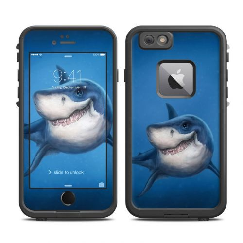 Shark Totem LifeProof iPhone 6s Plus fre Case Skin