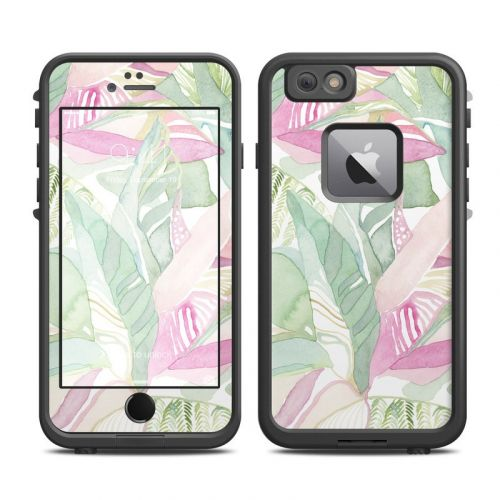 Tropical Leaves LifeProof iPhone 6s Plus fre Case Skin