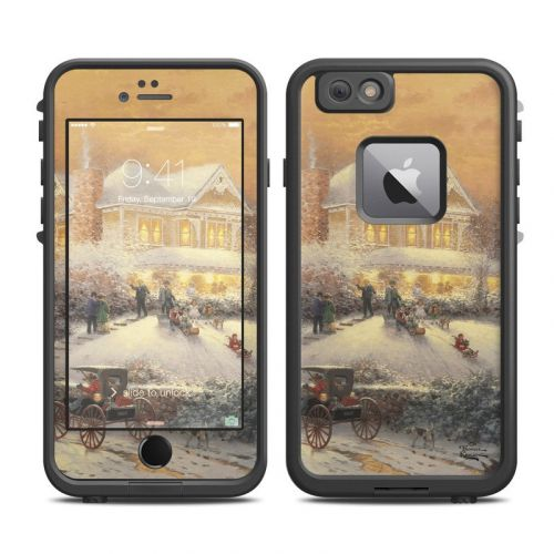 Victorian Christmas LifeProof iPhone 6s Plus fre Case Skin
