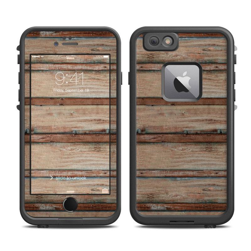 Boardwalk Wood LifeProof iPhone 6s Plus fre Skin