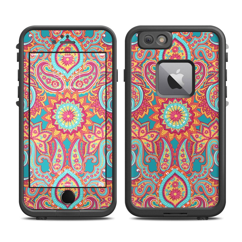 Carnival Paisley LifeProof iPhone 6s Plus fre Skin