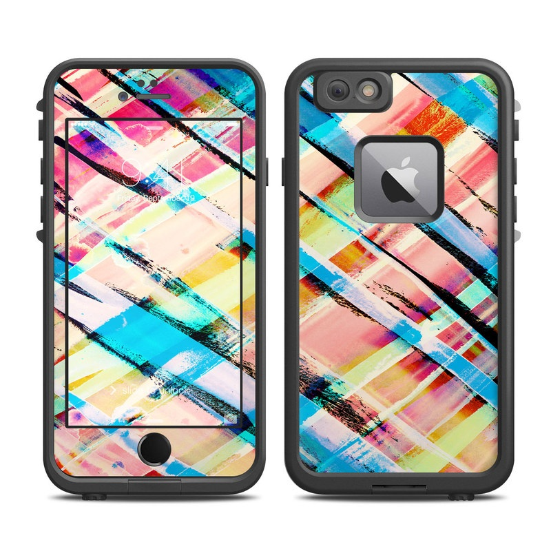 Check Stripe LifeProof iPhone 6s Plus fre Case Skin