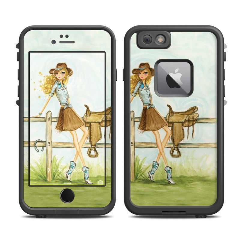 Cowgirl Glam LifeProof iPhone 6s Plus fre Case Skin