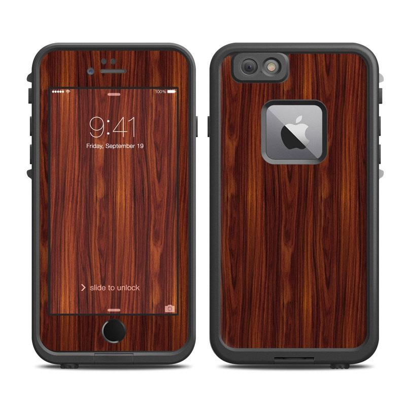 Dark Rosewood LifeProof iPhone 6s Plus fre Skin