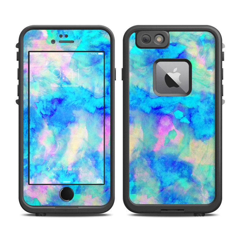 Electrify Ice Blue LifeProof iPhone 6s Plus fre Case Skin