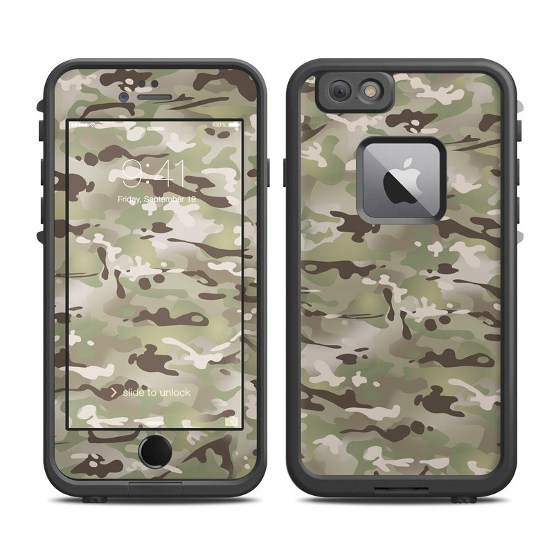 san francisco 14357 ac00f FC Camo LifeProof iPhone 6s Plus fre Case Skin
