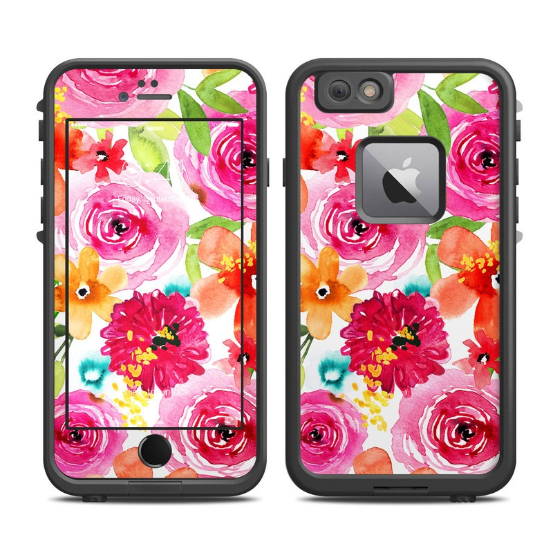 Floral Pop LifeProof iPhone 6s Plus fre Case Skin