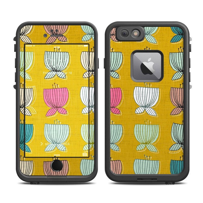 Flower Cups LifeProof iPhone 6s Plus fre Skin