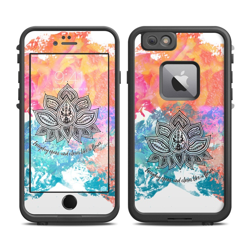 Happy Lotus LifeProof iPhone 6s Plus fre Case Skin
