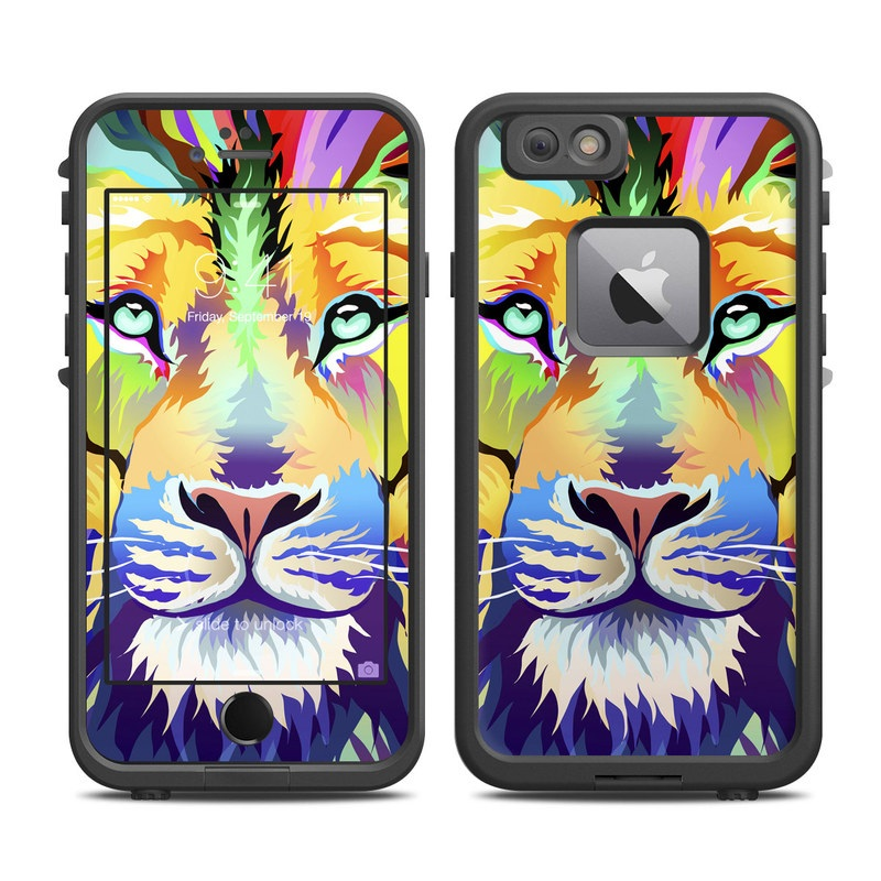 King of Technicolor LifeProof iPhone 6s Plus fre Case Skin