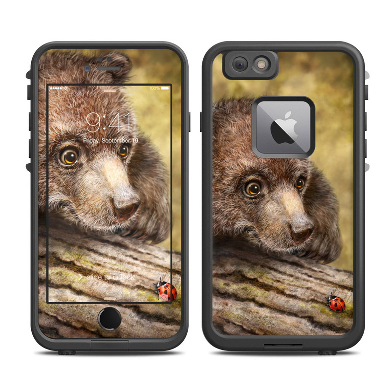 Kodiak Cub LifeProof iPhone 6s Plus fre Case Skin