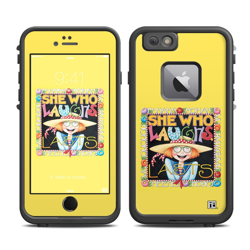 She Who Laughs LifeProof iPhone 6s Plus fre Case Skin