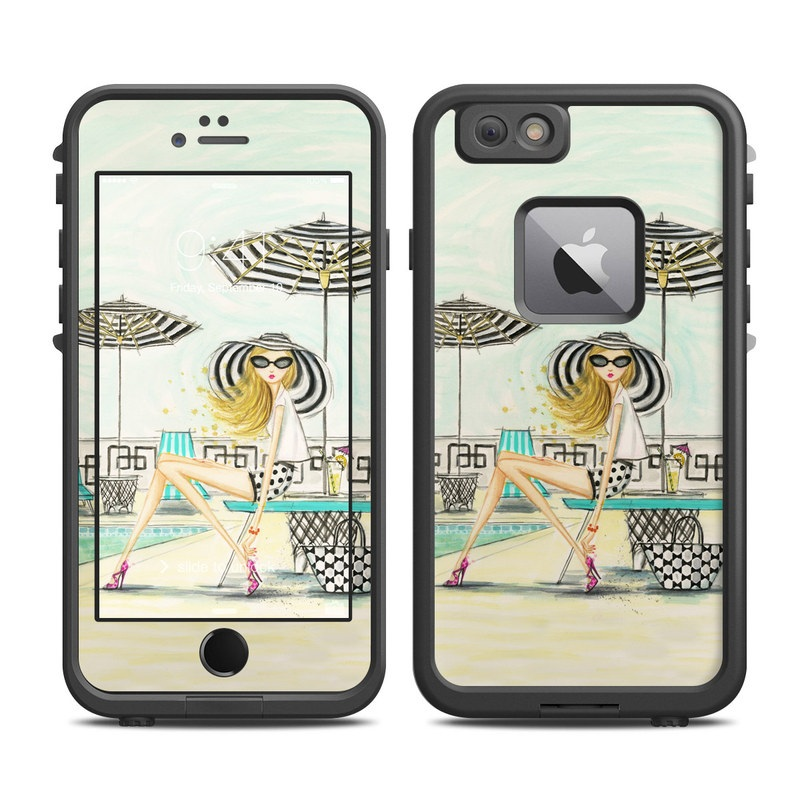 Luxe Retreat Poolside LifeProof iPhone 6s Plus fre Case Skin