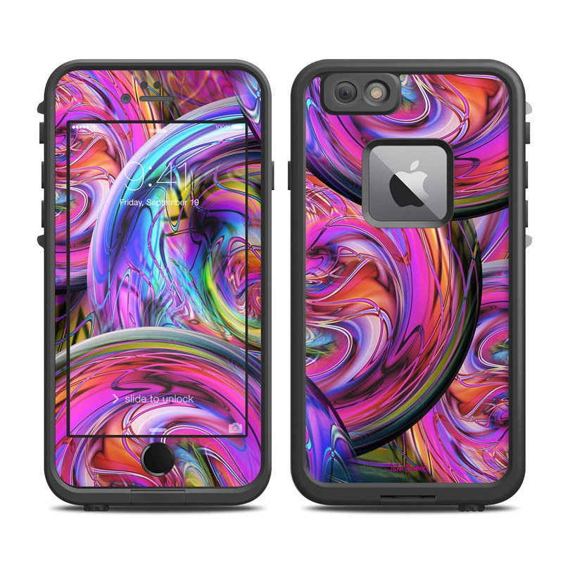 Marbles LifeProof iPhone 6s Plus fre Case Skin