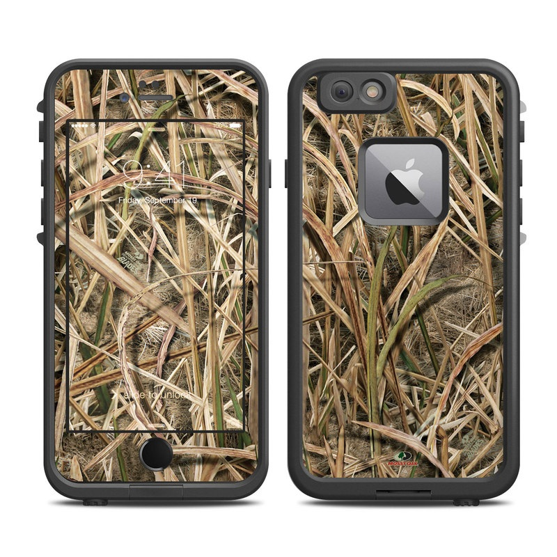 LifeProof iPhone 6s Plus fre Case Skin design of Grass, Straw, Plant, Grass family, Twig, Adaptation, Agriculture with black, green, gray, red colors