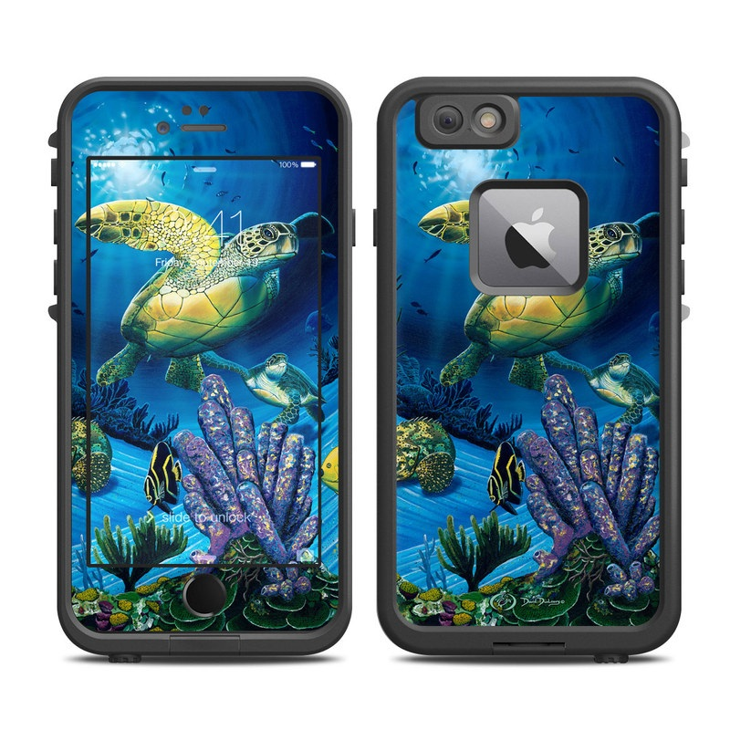 Ocean Fest LifeProof iPhone 6s Plus fre Skin