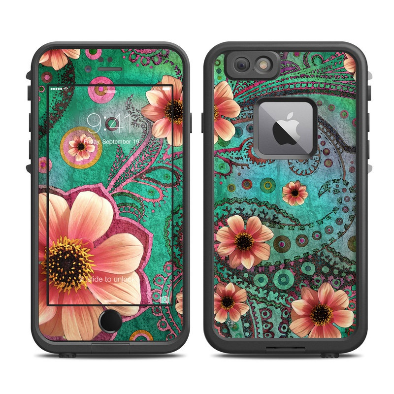 Paisley Paradise LifeProof iPhone 6s Plus fre Case Skin