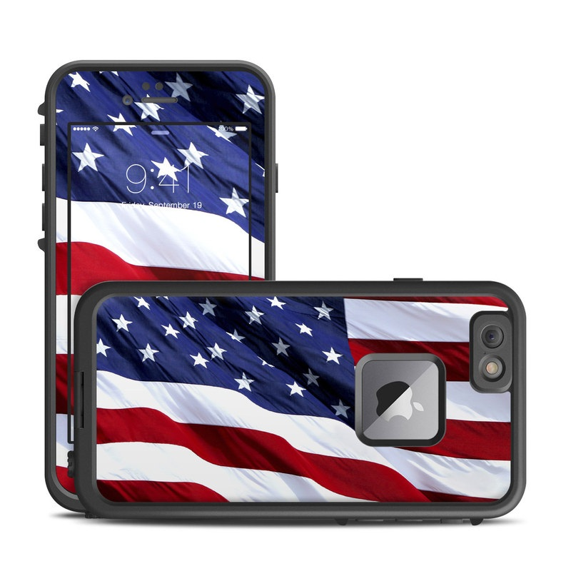 Patriotic LifeProof iPhone 6s Plus fre Case Skin