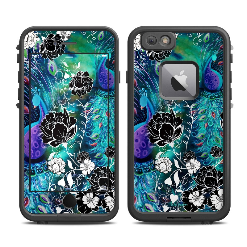 Peacock Garden LifeProof iPhone 6s Plus fre Case Skin
