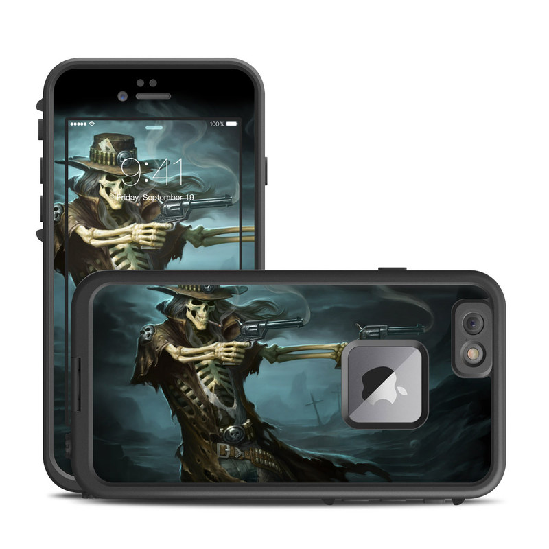 Reaper Gunslinger LifeProof iPhone 6s Plus fre Case Skin