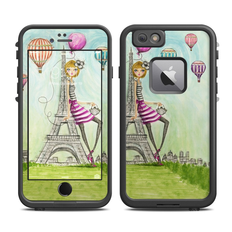 The Sights Paris LifeProof iPhone 6s Plus fre Skin
