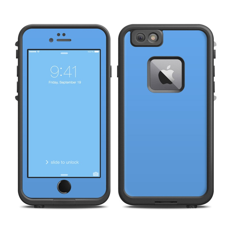 Solid State Blue LifeProof iPhone 6s Plus fre Case Skin