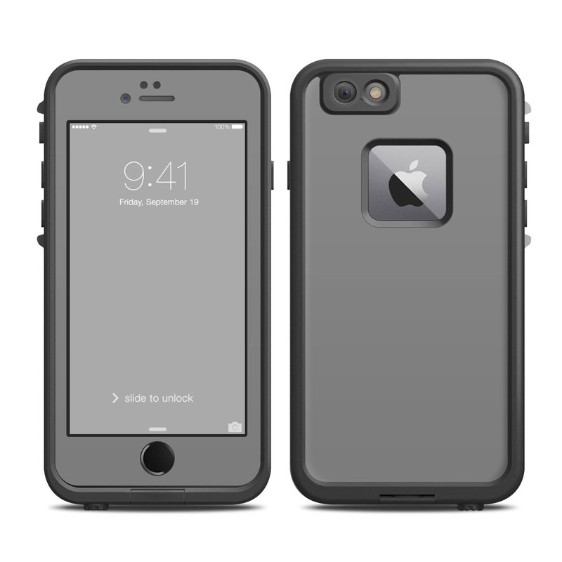 new concept 9d541 686df Solid State Grey LifeProof iPhone 6s Plus fre Case Skin