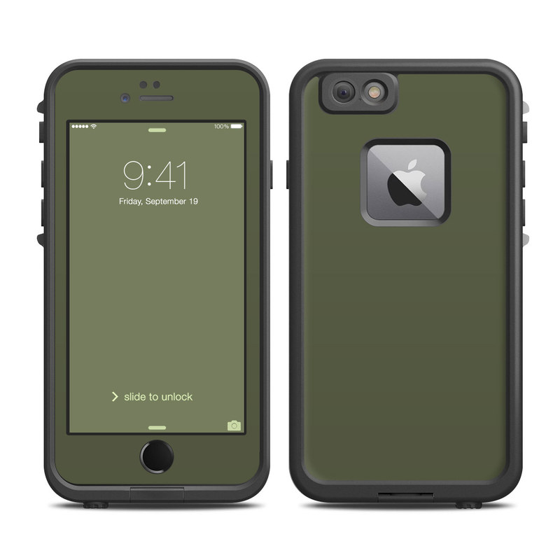 size 40 c988a 3d122 Solid State Olive Drab LifeProof iPhone 6s Plus fre Case Skin