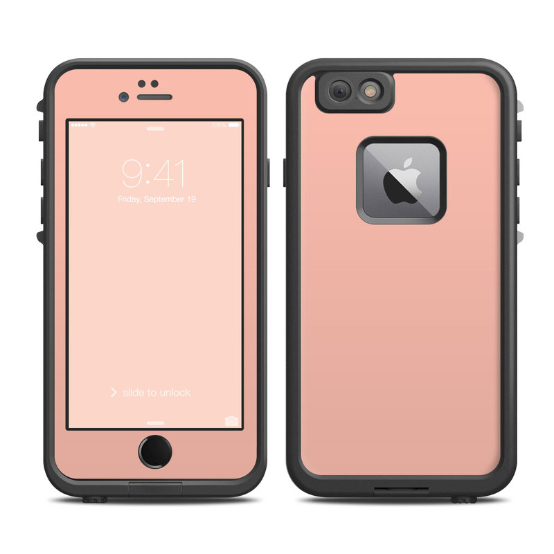 Solid State Peach LifeProof iPhone 6s Plus fre Case Skin