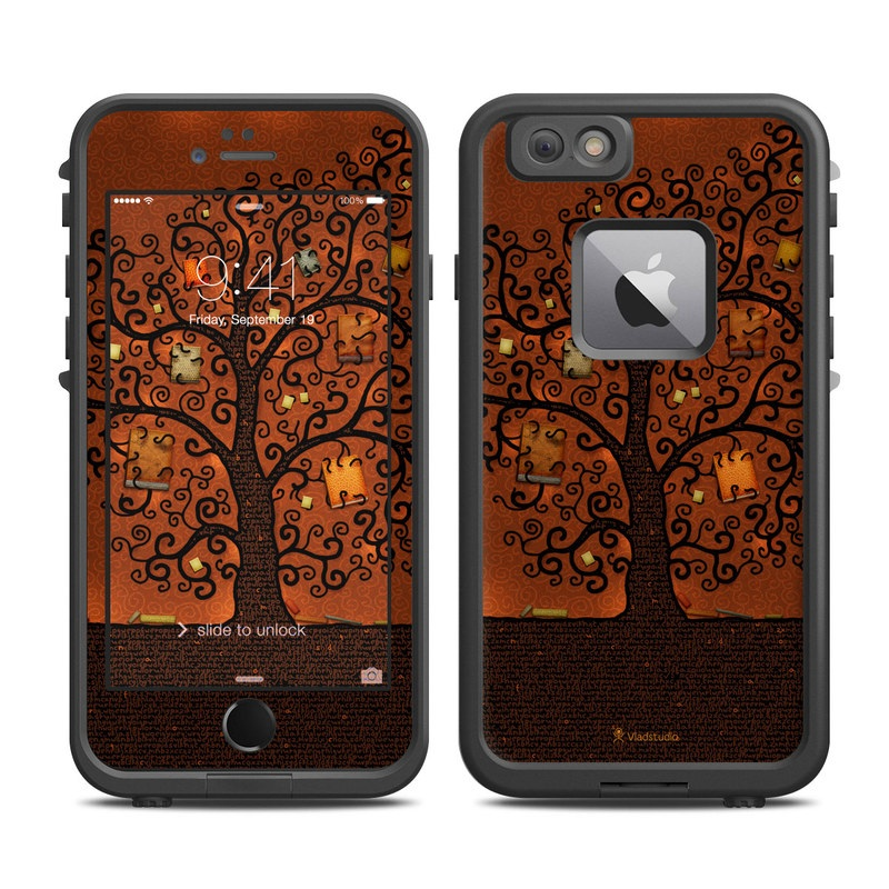Tree Of Books LifeProof iPhone 6s Plus fre Case Skin