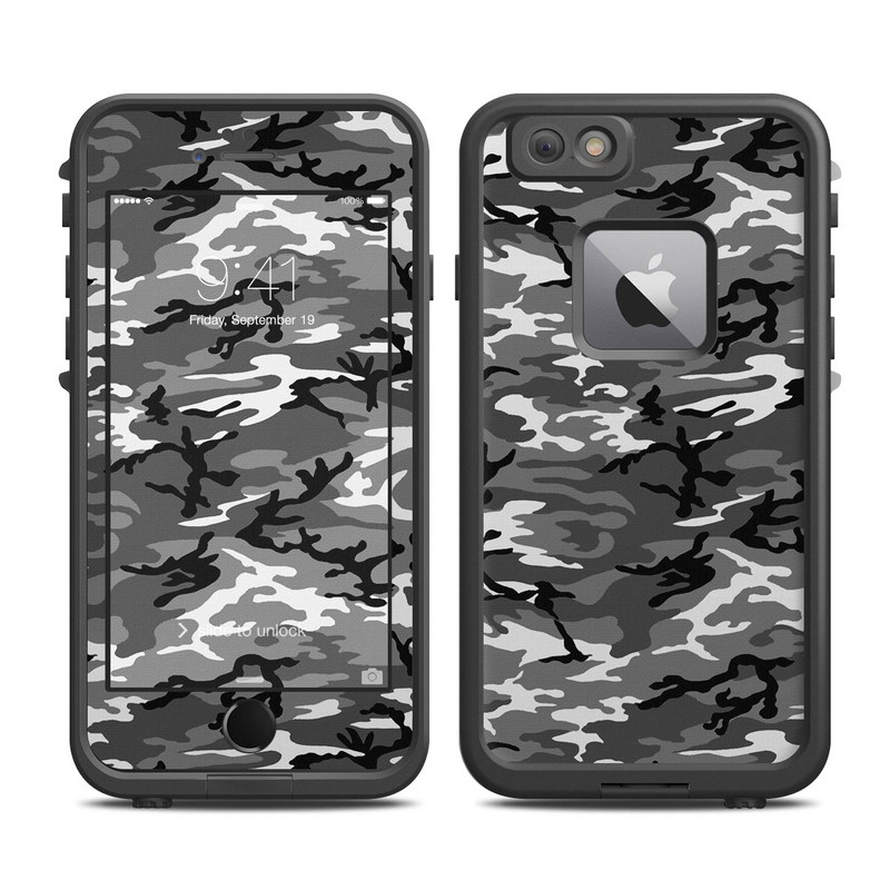 Urban Camo LifeProof iPhone 6s Plus fre Case Skin