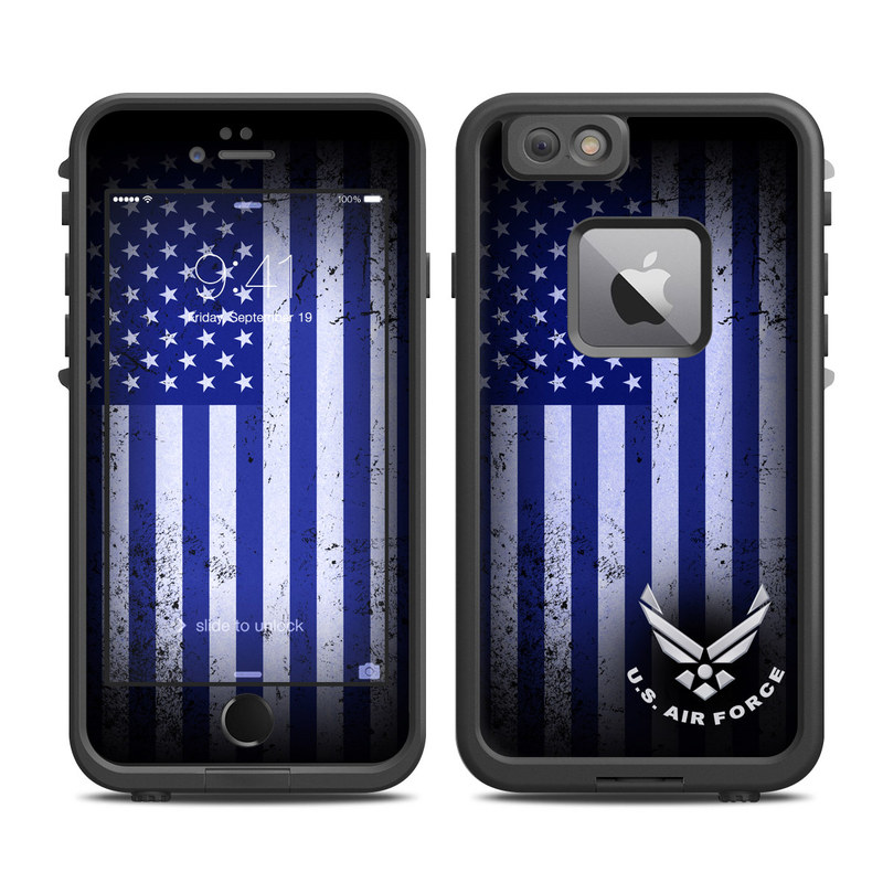 USAF Flag LifeProof iPhone 6s Plus fre Case Skin