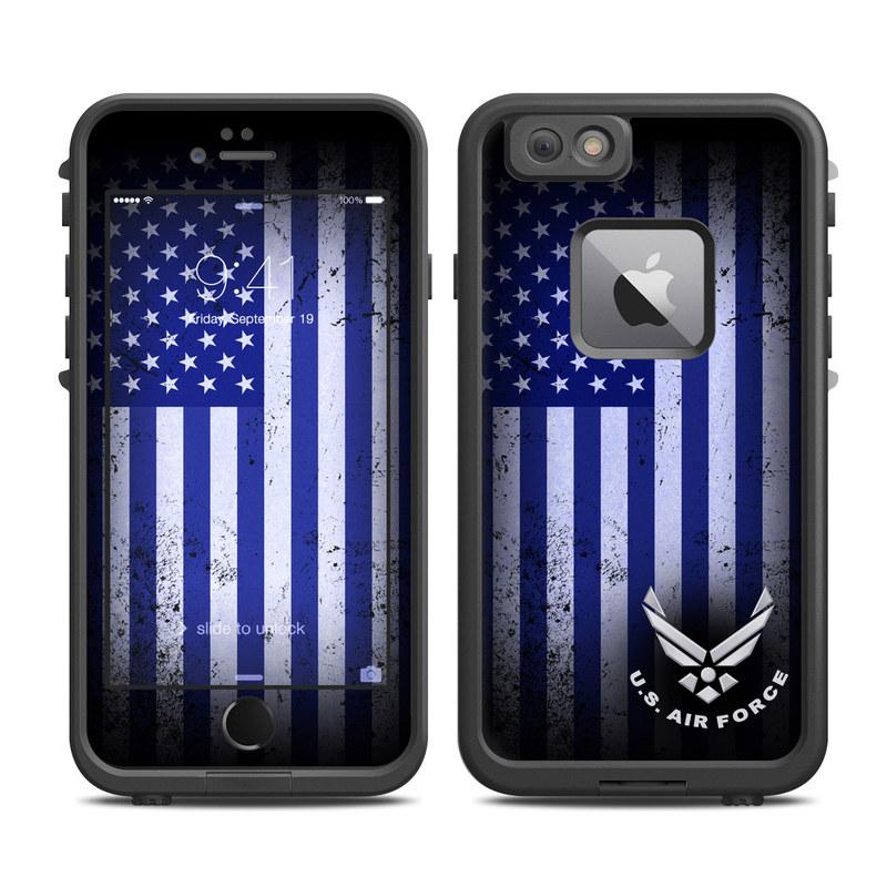USAF Flag LifeProof iPhone 6s Plus fre Skin