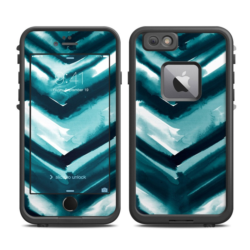 Watercolor Chevron LifeProof iPhone 6s Plus fre Case Skin