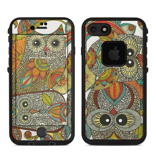 4 owls LifeProof iPhone 7 fre Skin