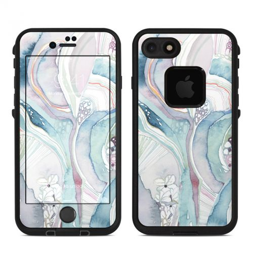 Abstract Organic LifeProof iPhone 8 fre Case Skin