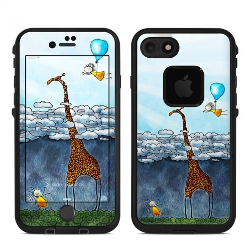 Above The Clouds LifeProof iPhone 7 fre Skin