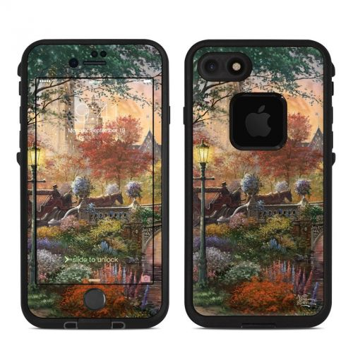 Autumn in New York LifeProof iPhone 7 fre Case Skin