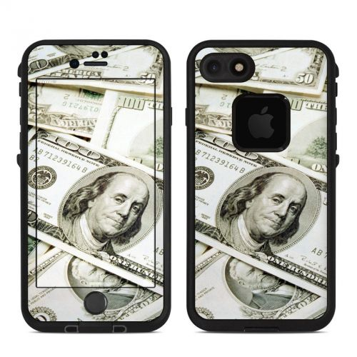 Benjamins LifeProof iPhone 7 fre Skin