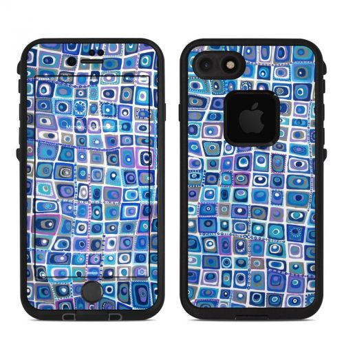 Blue Monday LifeProof iPhone 7 fre Case Skin
