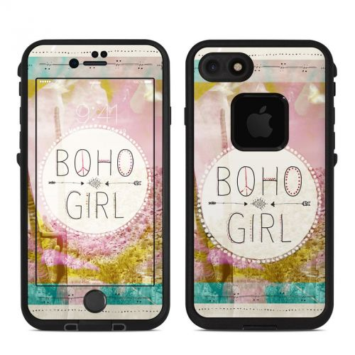 Boho Girl LifeProof iPhone 7 fre Skin