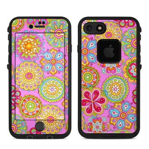Bright Flowers LifeProof iPhone 8 fre Case Skin