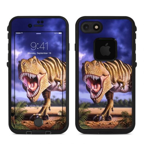 Brown Rex LifeProof iPhone 8 fre Case Skin