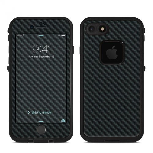 Carbon LifeProof iPhone 8 fre Case Skin