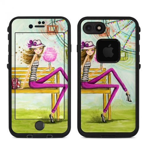 Carnival Cotton Candy LifeProof iPhone 7 fre Skin